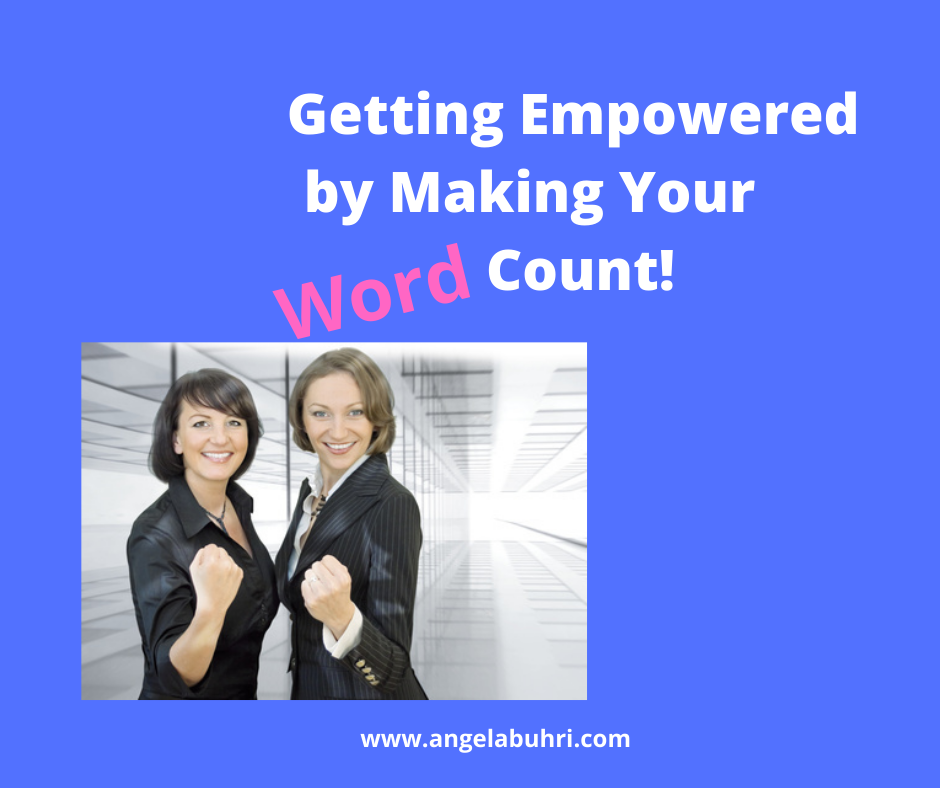 Weight Loss Psychology for Women: Getting Empowered By Making Your Word Count