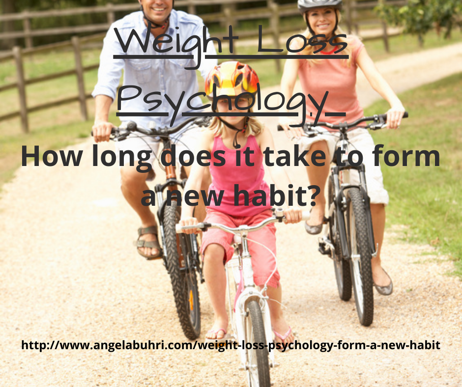 Weight Loss Psychology – How long does it take to form a new habit?